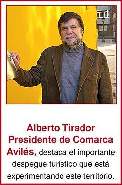 Alberto Tirador, Presidente de Comarca Avilés