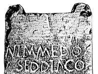 Lápida de Uxo (Mieres)