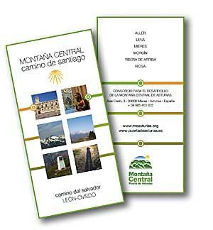 Guía dedicada al Camino del Salvador, ruta Jacobea que conecta León y Oviedo.