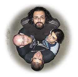 Los cuatro miembros de Soulworm