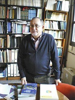 Ricardo Anadón, Catedrático de Ecología de la Universidad de Oviedo