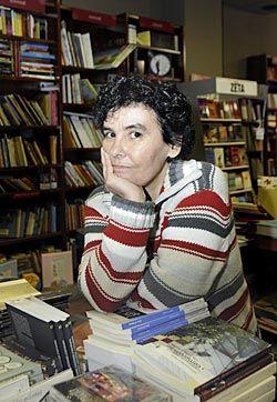 Esther Prieto, poetisa y directora de Ediciones Trabe