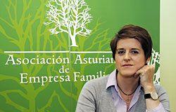 Julia López, Directora de la Asociación Asturiana de Empresa Familiar