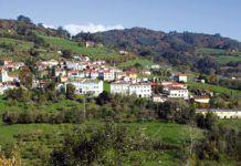 Santa Eulalia de Cabranes, capital del concejo de Cabranes