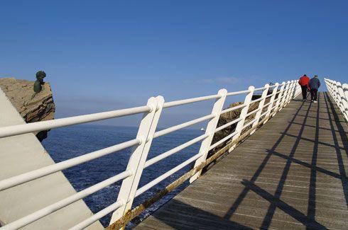"""Puente de """"La Gaviota"""" en el Museo de Anclas Philippe Cousteau"""
