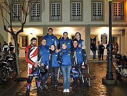 Miembros del Moto Clube  Xaraiba