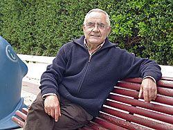 José Luis Suárez,  portavoz de la Asociación Cultural La Santina
