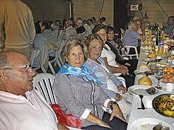 Espicha popular en el  día dedicado a La Santina