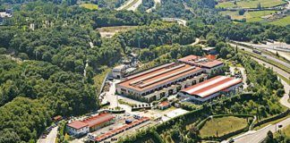 Instalaciones de Fundación Laboral de la Construcción en Ribera de Arriba.