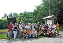 Salida del Grupo de Montaña Riberano al Camín Encantáu, Llanes