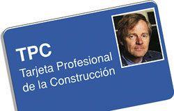 Tarjeta Profesional de la Construcción