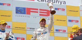 Toño Fernández, piloto de Fórmula 3