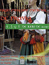 Cartel del Mercado Medieval de Pravia