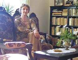 Mary Rico, presidenta de la Asociación Amigos del Camino de Santiago