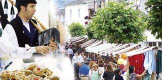Día de Mercado en Boal, música tradicional y Veneras, postre típico de la zona