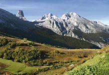 Los Picos de Europa desde La Tenerosa