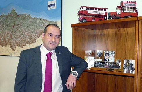 Carlos González Lozano, director General de CTA (Consorcio de Transportes de Asturias)