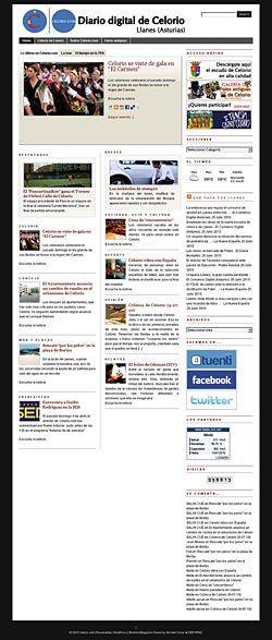 celoriu.com, una web pensada tanto para los que están lejos como para los que están cerca de Celorio y Asturias.