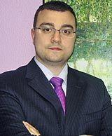 Adrián Barbón, alcalde de Laviana