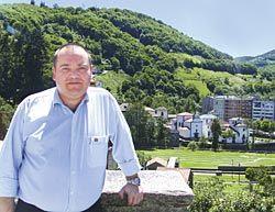José Manuel Martínez, alcalde de Cangas del Narcea