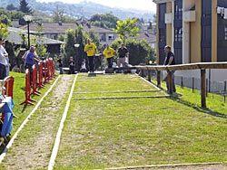 Torneo de  bolos organizado por la Peña de Bolos Villa de la Sidra-El Titi. (Nava)