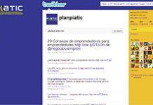 PIATIC está presente en redes sociales como Twitter y Facebook