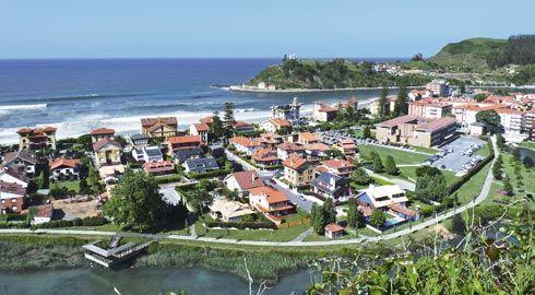 Vista de Ribadesella.