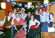 Feria de Abril, organizada por la Asociación de Hostelería de Tapia de Casariego.