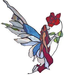 Trabajo de Masha Fiorella Casassa, artesana vidriera.