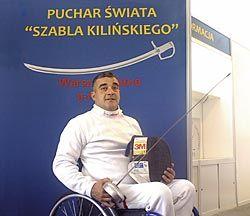 Jesús Antonio Fernández González. Esgrima en silla de ruedas.