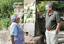 Miguel Angel Fernández, estudioso de los orígenes del nombre 'Les Felgueres'.