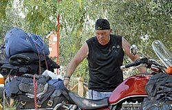 Javier Nava en su viaje a Turquía
