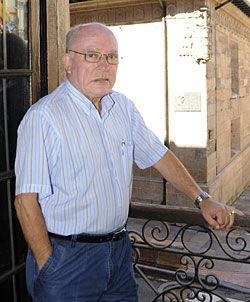 Florentino Martínez Roces. Presidente de Langreanos en el Mundo y del Centro Asturiano de Málaga