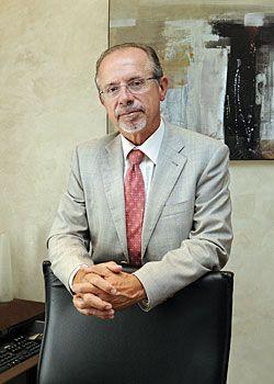 Jorge Marquínez. Presidente de la Confederación Hidrográfica del Cantábrico