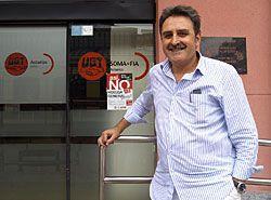 Vicente Ardura. Secretario Comarcal de Acción Sindical de UGT en Montaña Central.