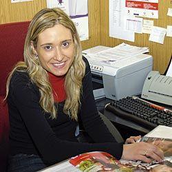 Gretel Villanueva, portavoz de MUJOAS (Asociación Mujeres Jóvenes de Asturias)