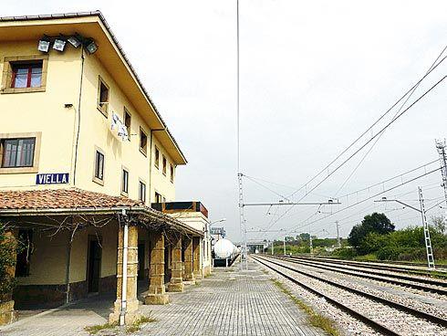 Polígono Estación de Viella (Siero)