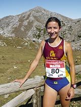 María Díez. Club Vino de Toro Caja Rural. Ganadora de la Carrera Pedestre 2010 con un tiempo de 1:27:09 -Categoría femenina