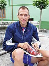 David Prieto. Toscaf-Recta final, Pravia. Cuarto puesto en la Carrera Pedestre 2010-Categoría masculina