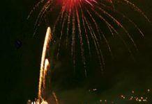 Noche de los Fuegos Artificiales en La Vega, Riosa