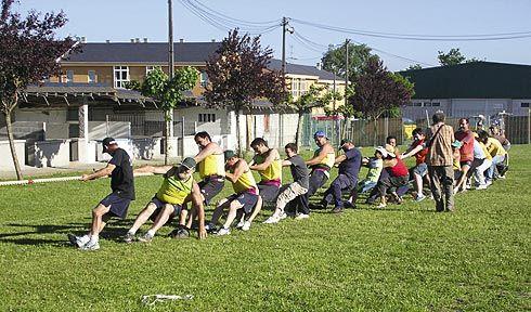 Asociación Deportiva 6 Conceyos. Tiru de cuerda.