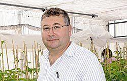 Juan José Ferreira, responsable del Programa de Genética Vegetal del SERIDA.