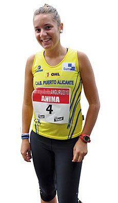 Ana Gutiérrez, Atleta.