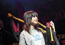 Andrea Joglar, gaitera. Ganadora del Premio Mc Crimmon en 2010.