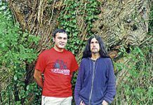 Alberto Gómez y José Ramón Roca, autores del libro