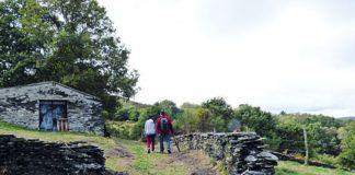 Vilarello, pueblo característico por sus casas de piedra