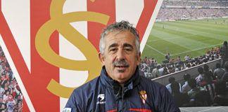 Manuel Preciado. Entrenador del Sporting de Gijón