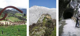 Parque de la Prehistoria, Ruinas del Castillo de Alesga y Senda del Oso (Teverga).