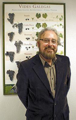 Ceferino Cimadevilla, presidente de la Asociación Asturiana de Sumilleres