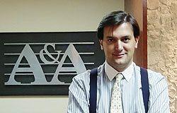 Pelayo Menéndez de Luarca, Secretario del Club Asturiano de Gastronomía en Madrid